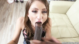Shiloh Sharada gets a black cock in her butthole
