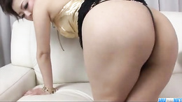 Yuki Asami Japanese milf takes on a really fat dick