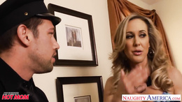 Busty moms Brandi Love, Eva Karera and Julia Ann fucks