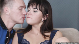 Casual Teen Sex - Anal debut in a home studio