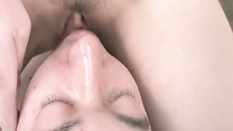 Tomoka Sakurai Gets Her Pussy Eaten And Sucks Dick