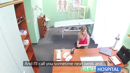 FakeHospital Slender blonde uses her sexy body