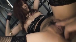 Obedient Mei Haruka plays kinky in a series of amazing Asian BDSM scenes