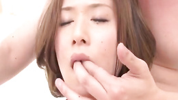 Emi Orihara loves her cunt to be fingered and entered by hard dick