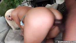 Tattooed Lylith Lavey gets her hot pussy pulverized