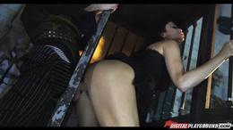 Fantasy fuck with hook hand hooker Jasmine Jae