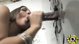 Sizzling Kiera King sucks on this throbbing prick