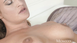 MOM Busty ass licking milf gives tight lesbian fucking