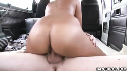 Alluring brunette gets drenched in warm cock sauce