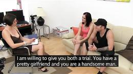 FemaleAgent Boyfriend leaves and she's all mine