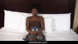 TeenyBlack Sexy ebony teen Ivory Princess interracial s