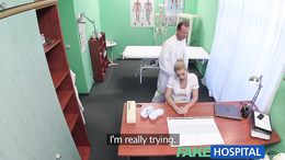 FakeHospital Sexy nurse gets creampied by doctor
