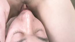 Tomoka Sakurai Gets Her Pussy Eaten And Sucks Dick