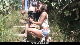 OyeLoca - Gala Brown Gets Fucked Outdoors
