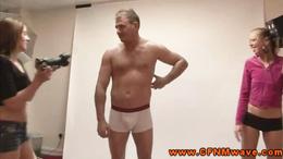 Sexy femdom CFNM dominas