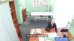 FakeHospital Dirty doctor fucks busty porn star