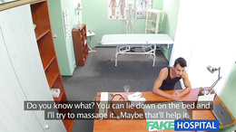 FakeHospital Hot nurse massages patient before fucking