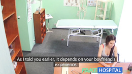 FakeHospital Gorgeous teen wants to learn