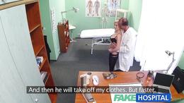 FakeHospital Blonde tattoo babe fucked hard doctor