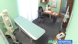 FakeHospital Triple cumshot from doctor with mistress
