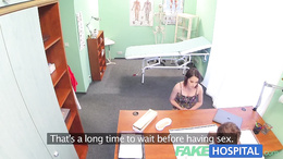 FakeHospital Busty beauty needs doctor to keep secret
