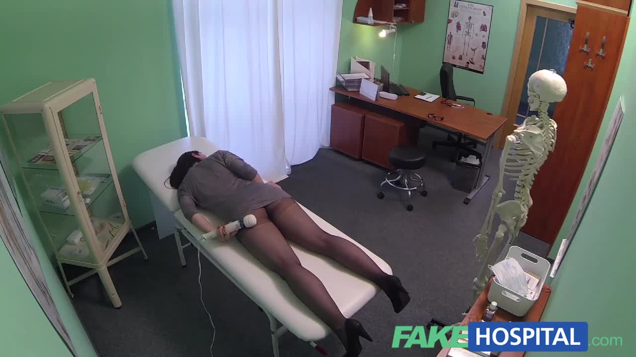 image Fakehospital hot spanish patient gets fucked hard creampied