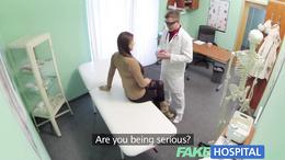 Fake Hospital Doctor prescribes a good hard fucking