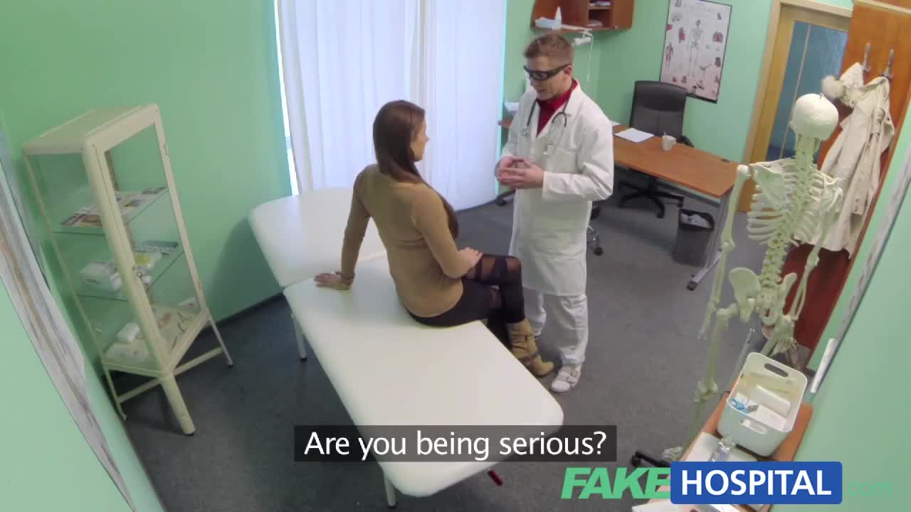 Fake hospital shy patient with soaking wet pussy squirts 7