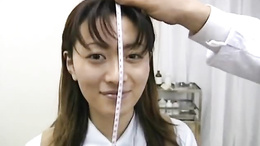 Beauty Saki Shiina gets a torough examination from the school doctor