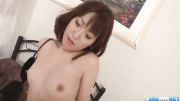 Sexy Asian babe Nonoka Kaede getting her twat fingered before a bj
