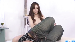 Lets all get nasty and watch naive young Yura Kasumi get shagged