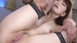Tomoka Sakurai getting toyed before blowing and riding these dicks