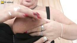 Sexy moments of nude toy porn along a chubby milf with huge tits