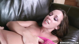 Jada Stevens enjoys getting her moist pussy hammered