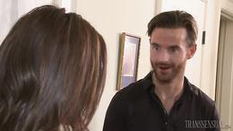 Filthy dirty talk between alluring Jessy Dubai and Brendan Patrick