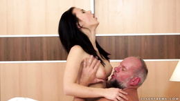 Denise Sky fucked by an older man