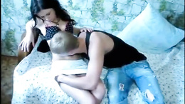 Adorable teen gets busy with cock after a sensual foreplay