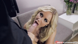 This cock is bigger than yours Karlie Simone makes justice with her boyfriend from cheating on her