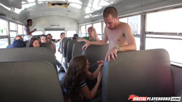 Maddy OReilly fucking on the bus
