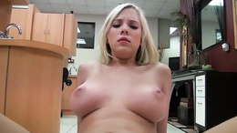 Britney Beth is fucked on a dentist's chair