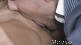 MOM Beautiful Milf with massive fake boobs gets fucked