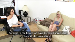 FemaleAgent Tight blonde anal casting