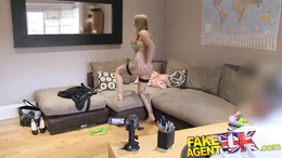 FakeAgentUK MILF with perfect ass for spanking