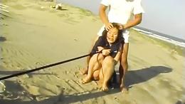 Hardcore sex on the beach