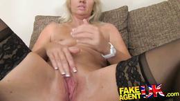 FakeAgentUK Mature MILF is hungry for pornstars cocks