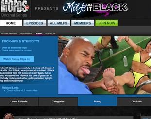 MILFS Like It Black Logo